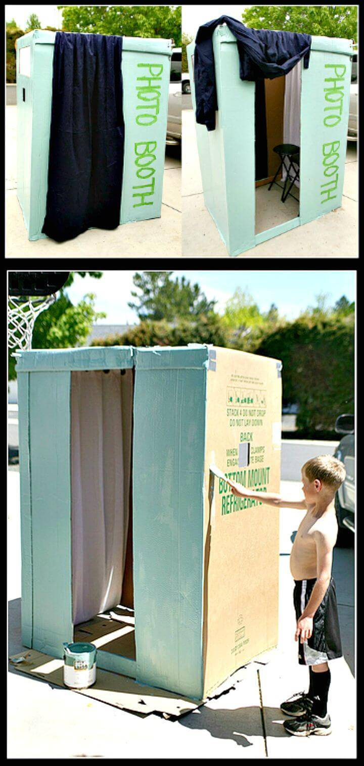 Easy DIY Photo Booth Tutorial
