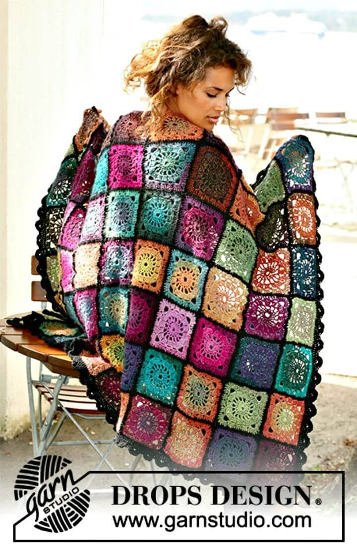 Easy Free Crochet Bohemian Oasis Pattern