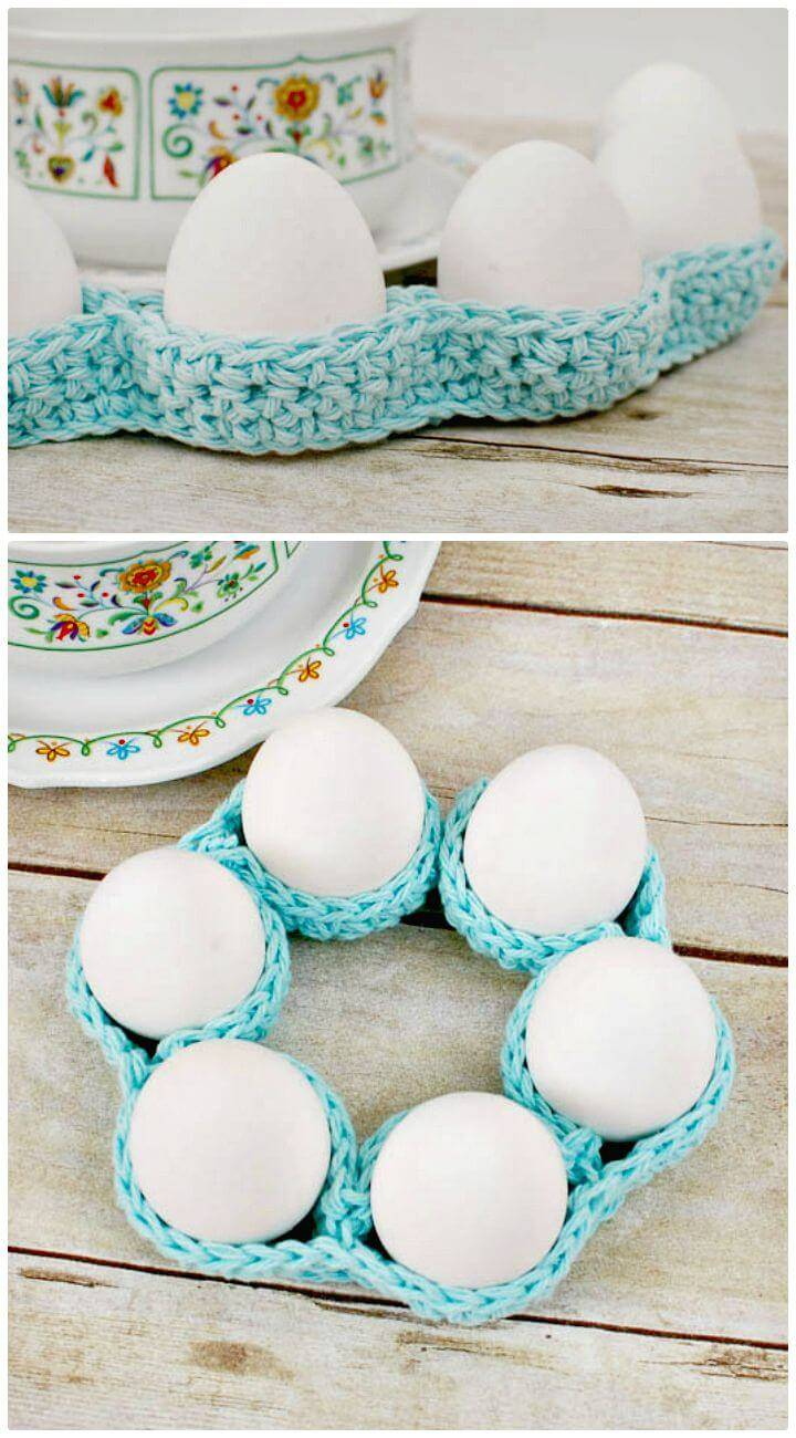 Easy Free Crochet Egg Cozy Pattern