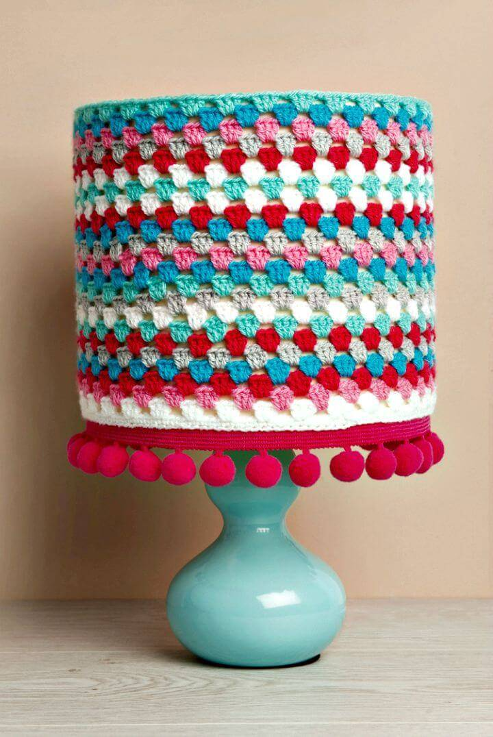 Easy Free Crochet Lampshade Pattern
