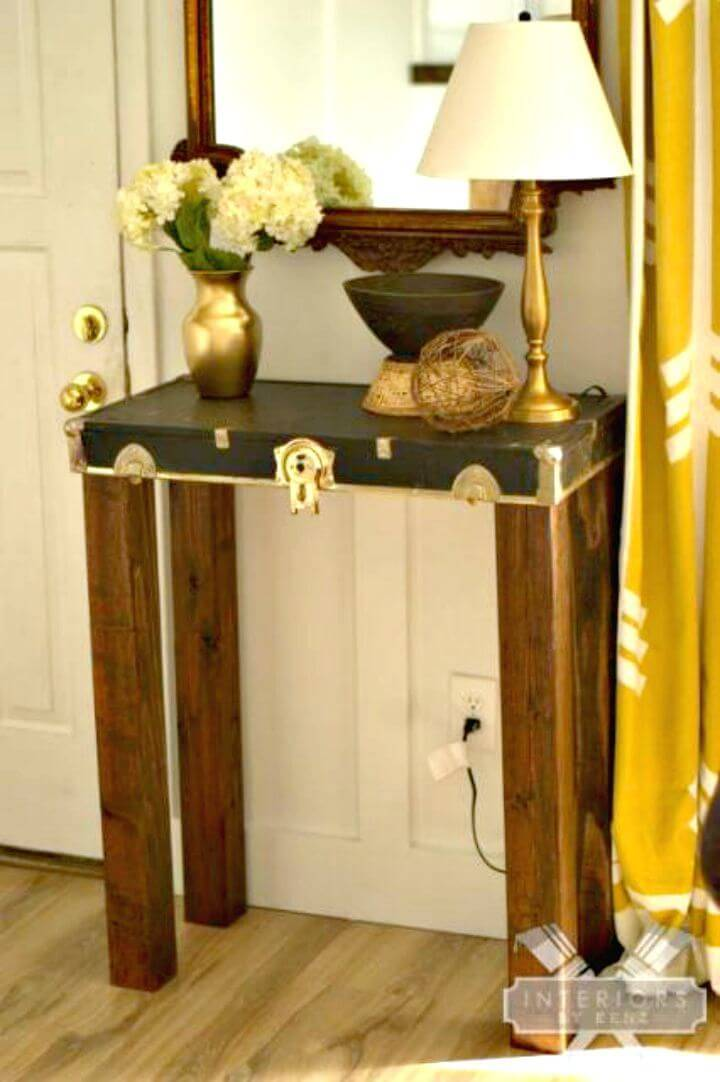 Easy How To Build A Entryway Table Tutorial