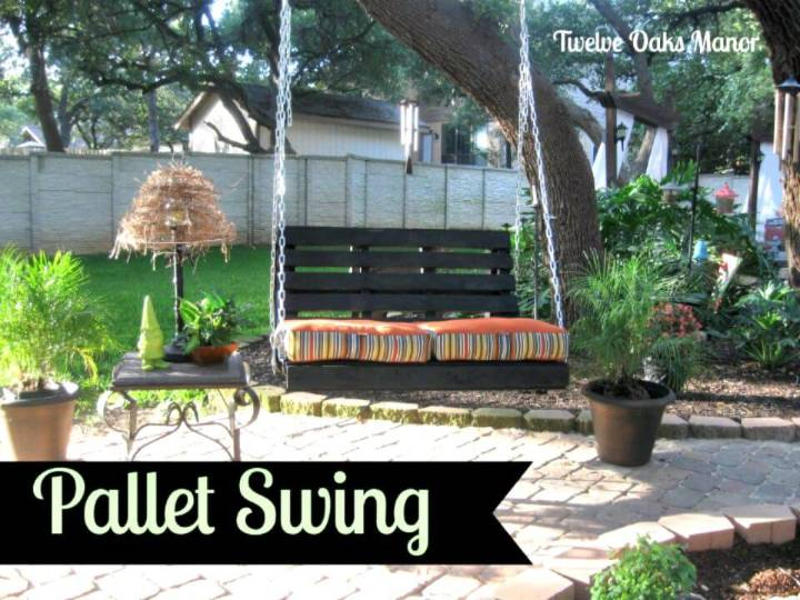Easy to Build Your Own Pallet Swing Tutorial