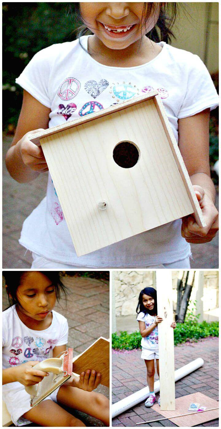 Easy DIY a Cute Birdhouse Tutorial