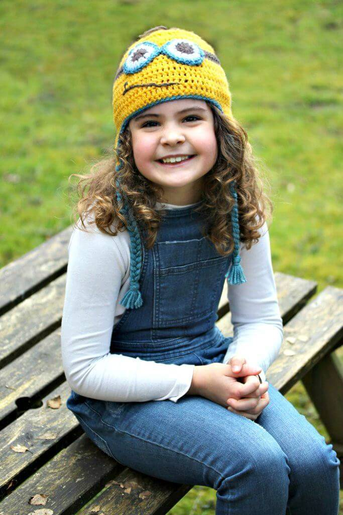 Easy How To Free Crochet Minion Hat Pattern