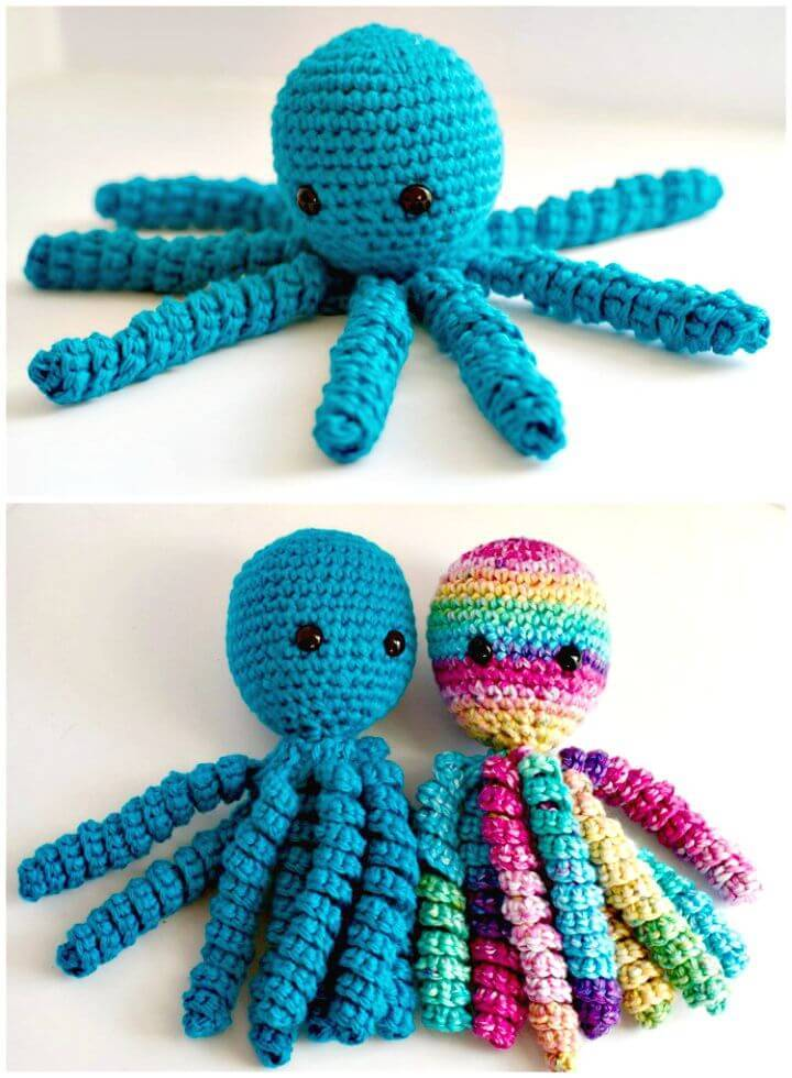 Easy Free Crochet An Octopus For Preemies Pattern