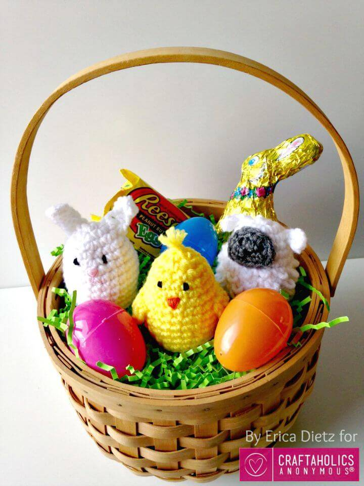Easy Free Crochet Easter Egg Covers Pattern