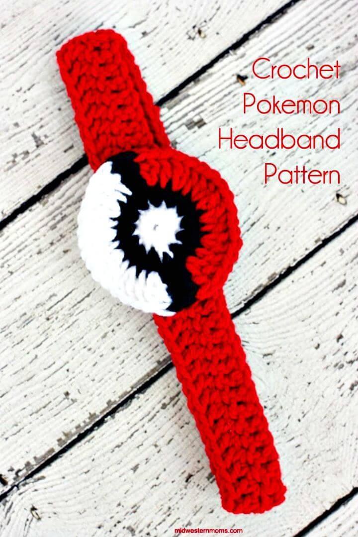How To Free Crochet Pokemon Headband Pattern