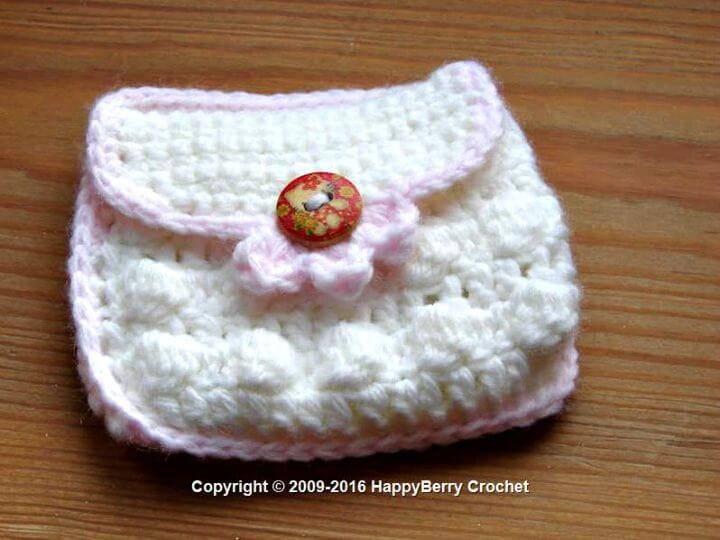Free Crochet Small Coin Purse Pattern