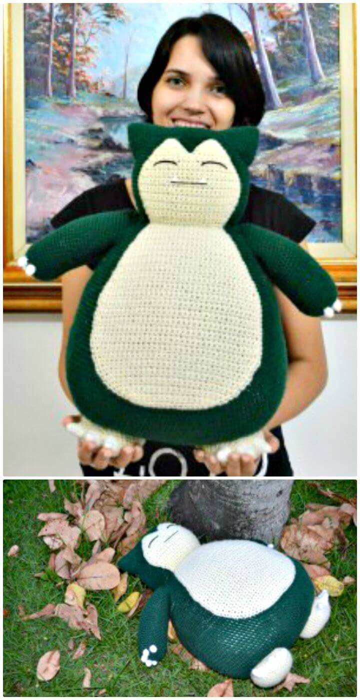How To Free Crochet Snorlax Pokemon Pattern