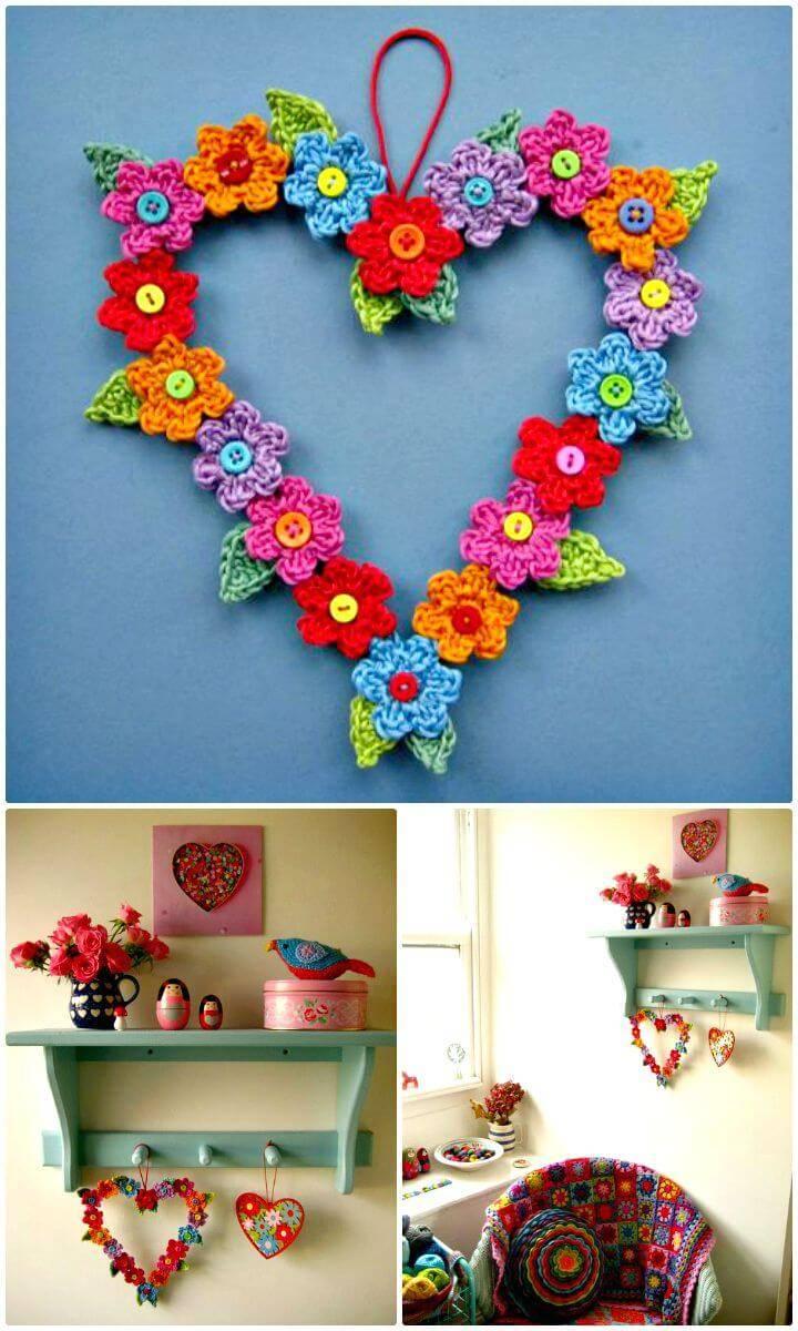 Free Crochet Valentine Sweet Heart Pattern