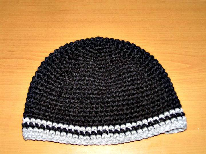 Easy Free Crochet for Men's Hat Pattern
