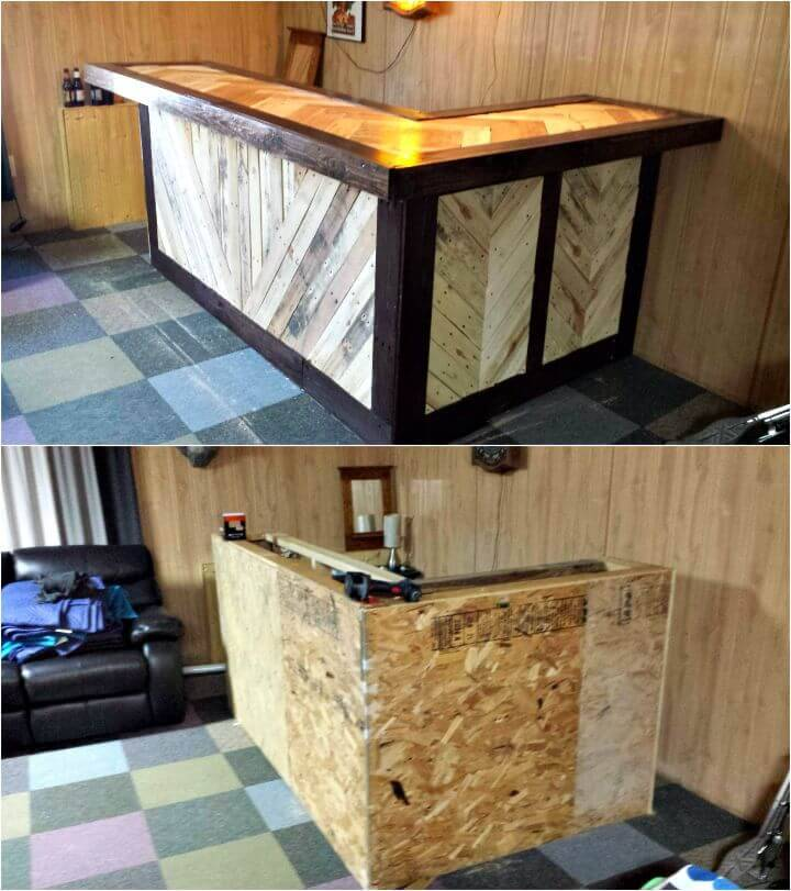 Easy How To Build Pallet Bar Under $34 Tutorial