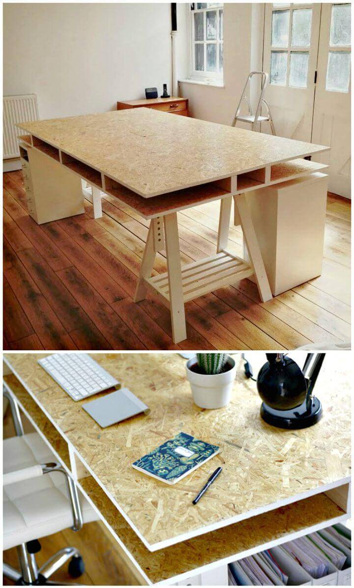 Simple DIY a Desk Tutorial