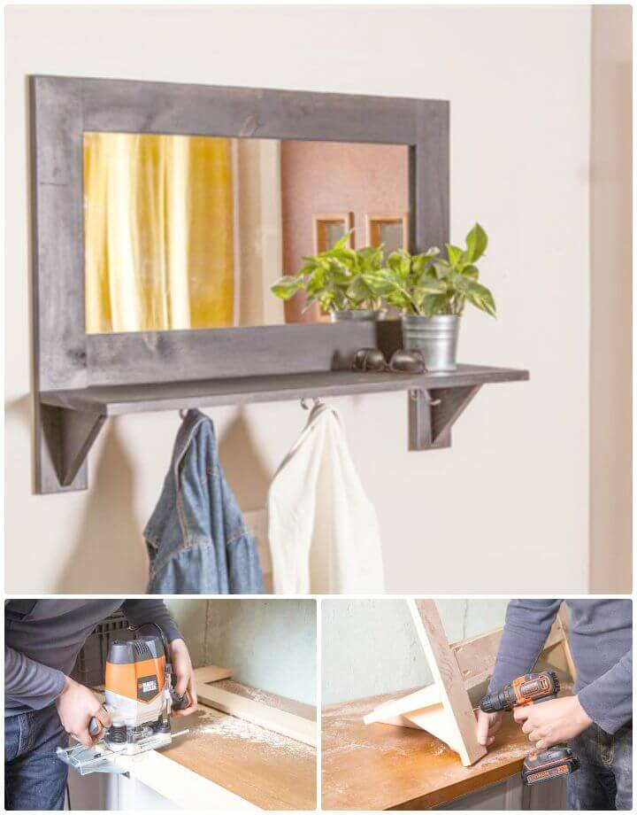 Easy To Build A Entryway Organizer Tutorial