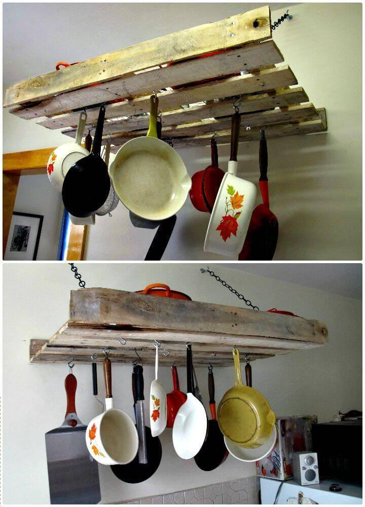 Easy How To Build Hanging Pallet Rack - DIY