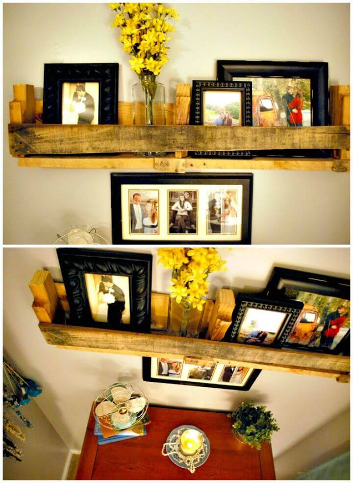 Easy How To Build Pallet Shelf - DIY