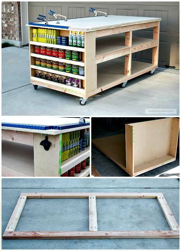 40 Workbench Plans That Are Cheap And Easy To Build ⋆ Diy