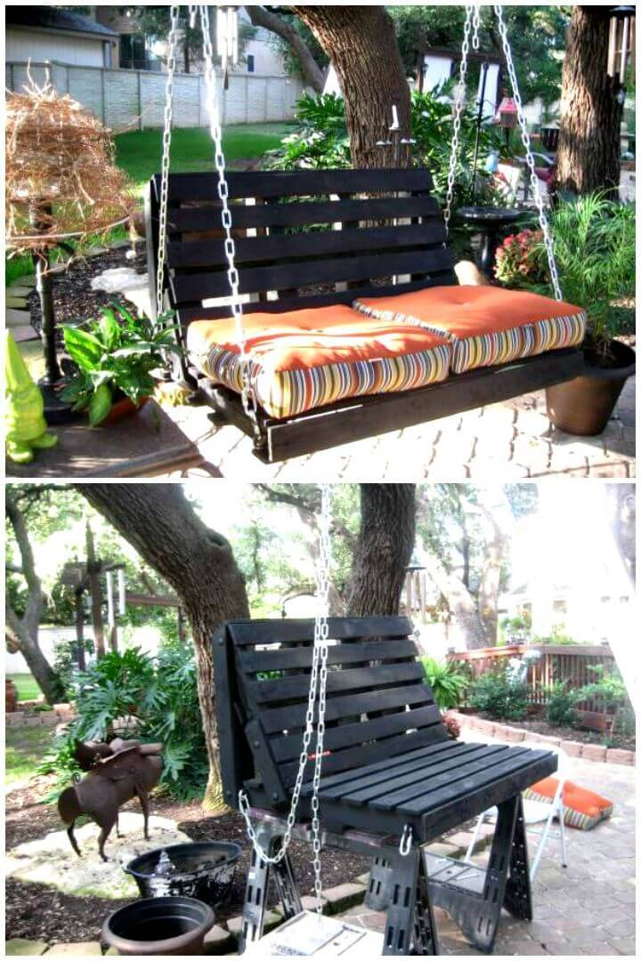 Easy How To Build Your Own Pallet Swing Tutorial