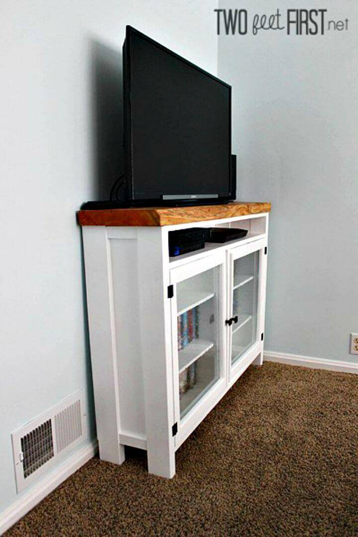 Easy How To Build Your Own TV Console Tutorial