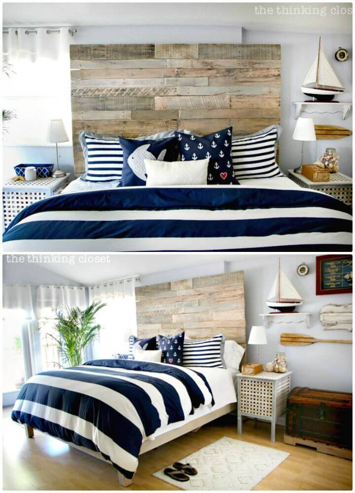 Easy How To Build a Pallet Headboard - DIY