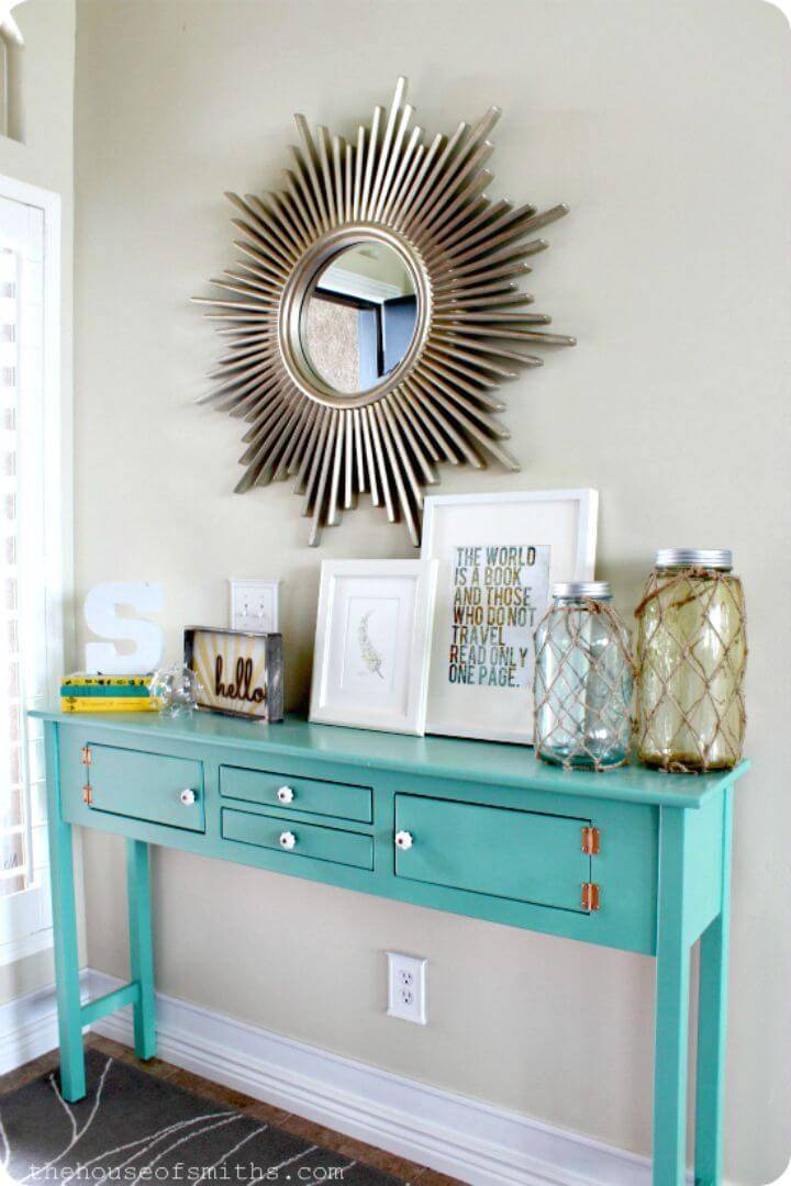 Easy DIY Entryway Table Decor Tutorial