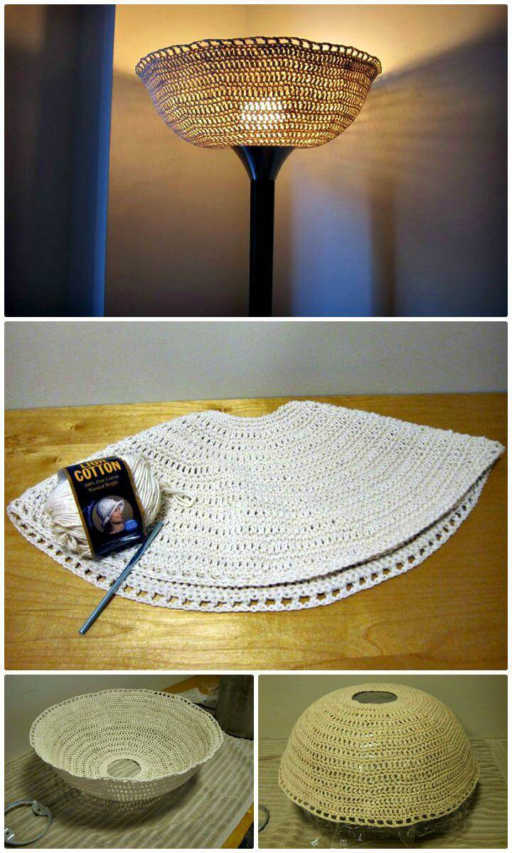 How To Free Crochet Lampshade Pattern