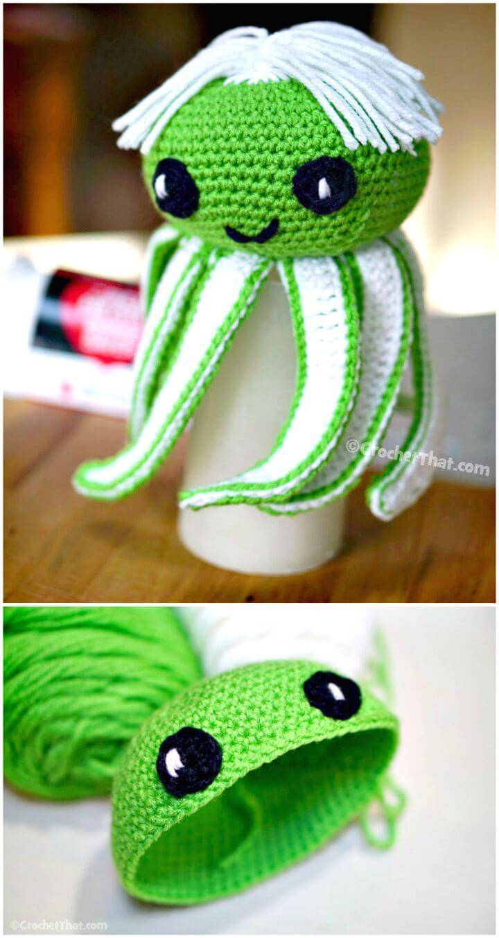 Easy How To Free Crochet Octopus Pattern