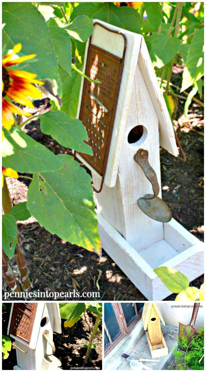 How To Make A Birdhouse From Scrap Wood Plan