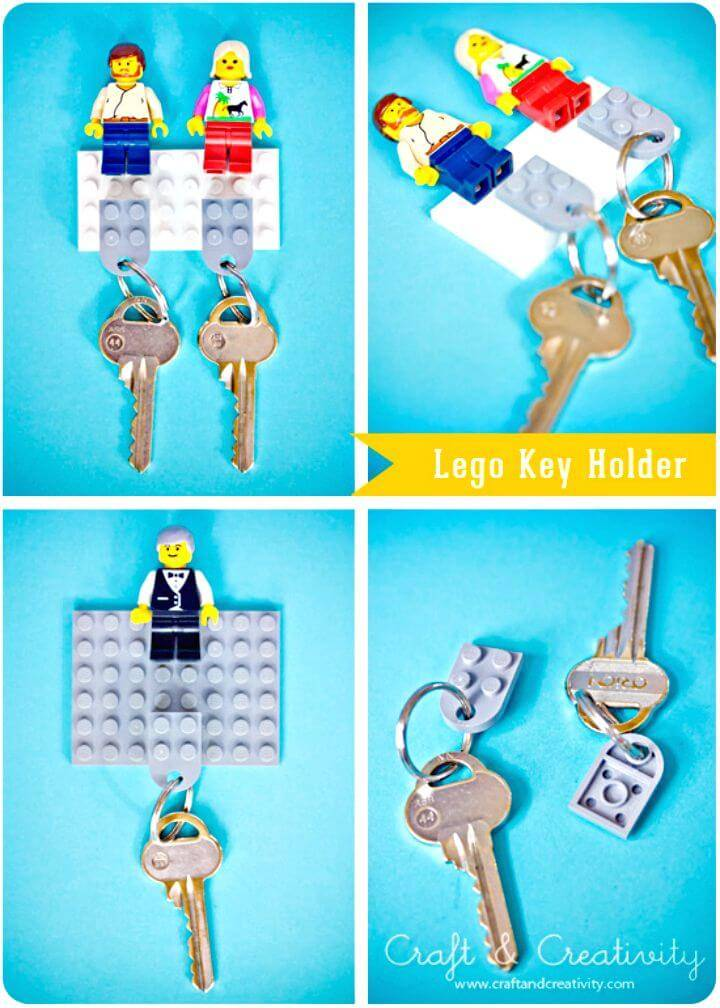 How To Make Lego Key Holder Tutorial