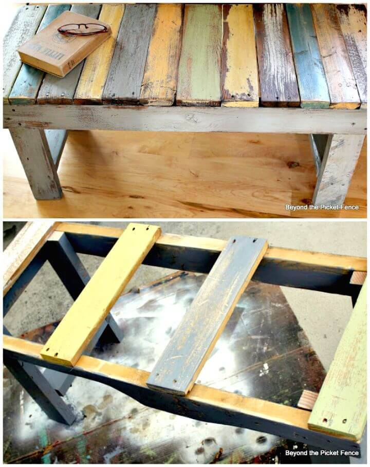 How To Make Pallet Bench - DIY
