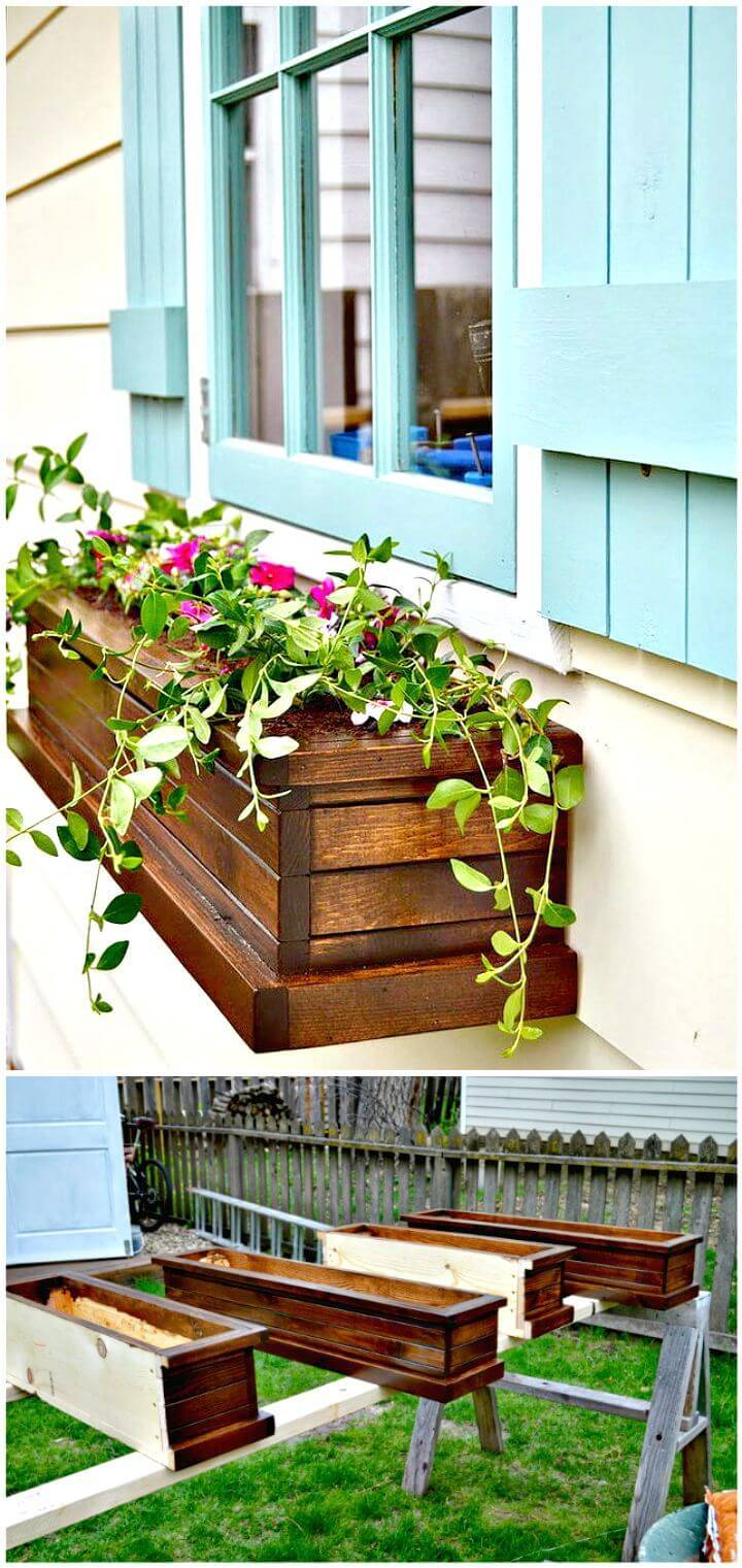 Easy How To Make Window Planter Box Tutorial