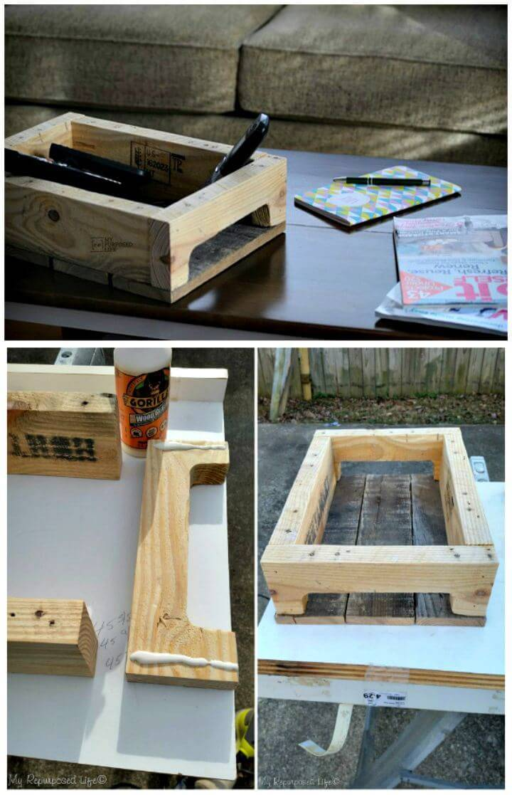 Easy Make Your Own Coffee Table - DIY