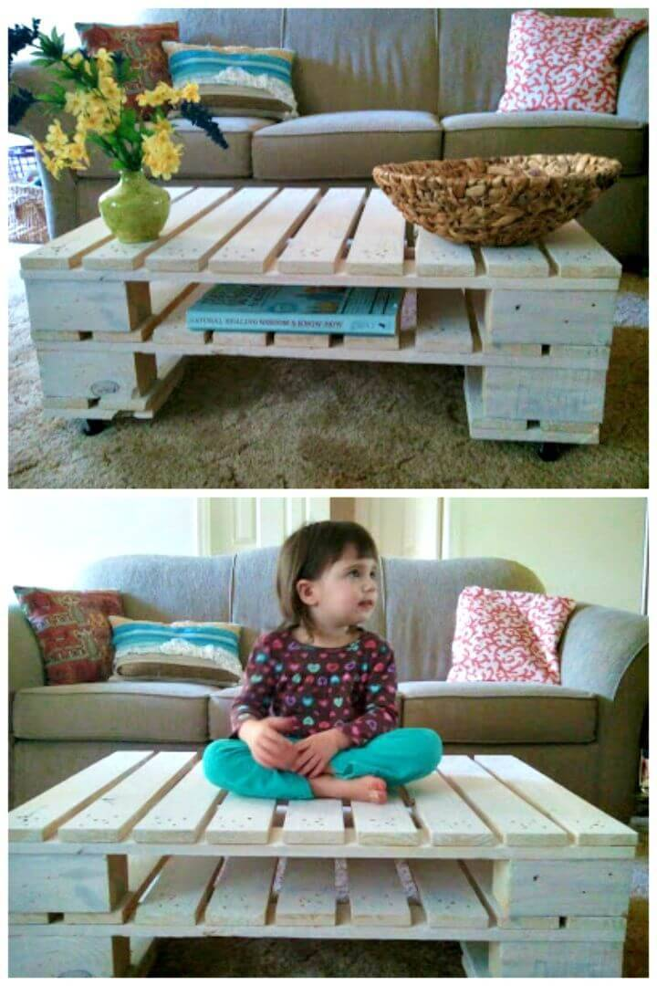 Easy Make Your Own Pallet Table - DIY