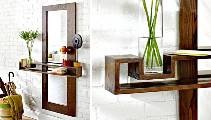 Easy DIY Entryway Mirror Tutorial