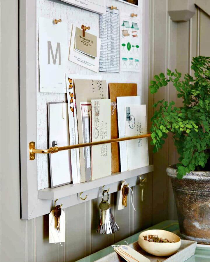 DIY Organizer Entryway Tutorial