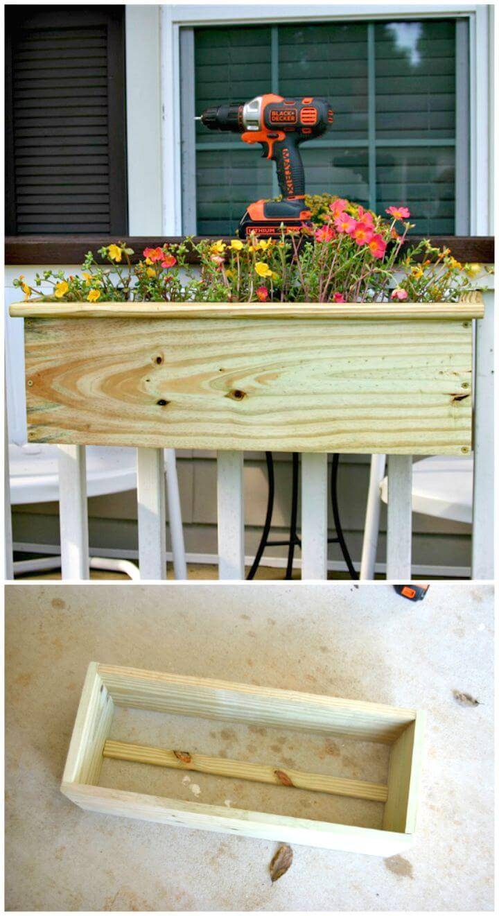 DIY Planter Box for Your Porch Tutorial