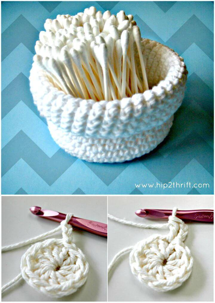 Easy to Crochet a Basket Pattern