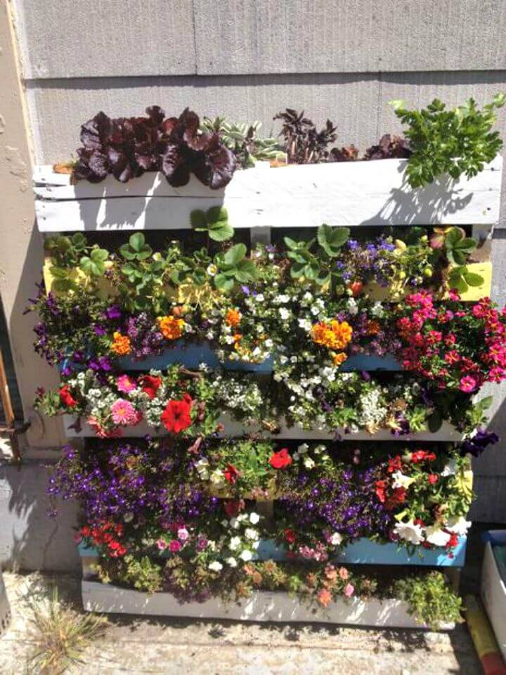 How to Make Your Own Pallet Garden - DIY