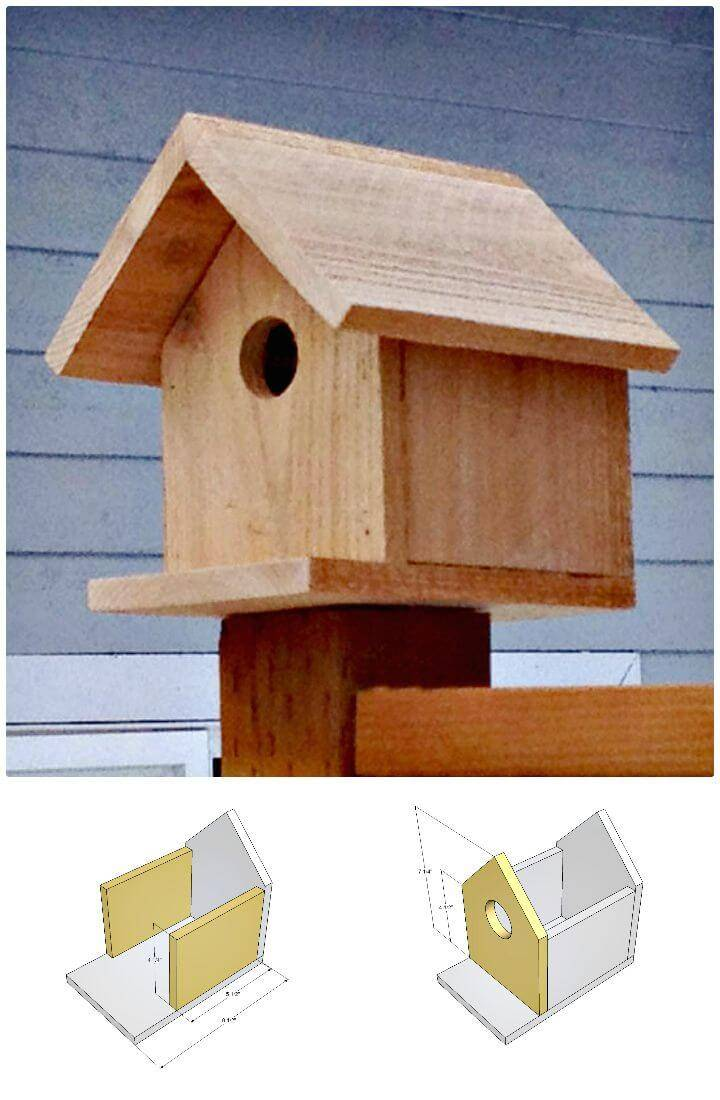 How To Make a Birdhouse Under 2 $ Tutorial