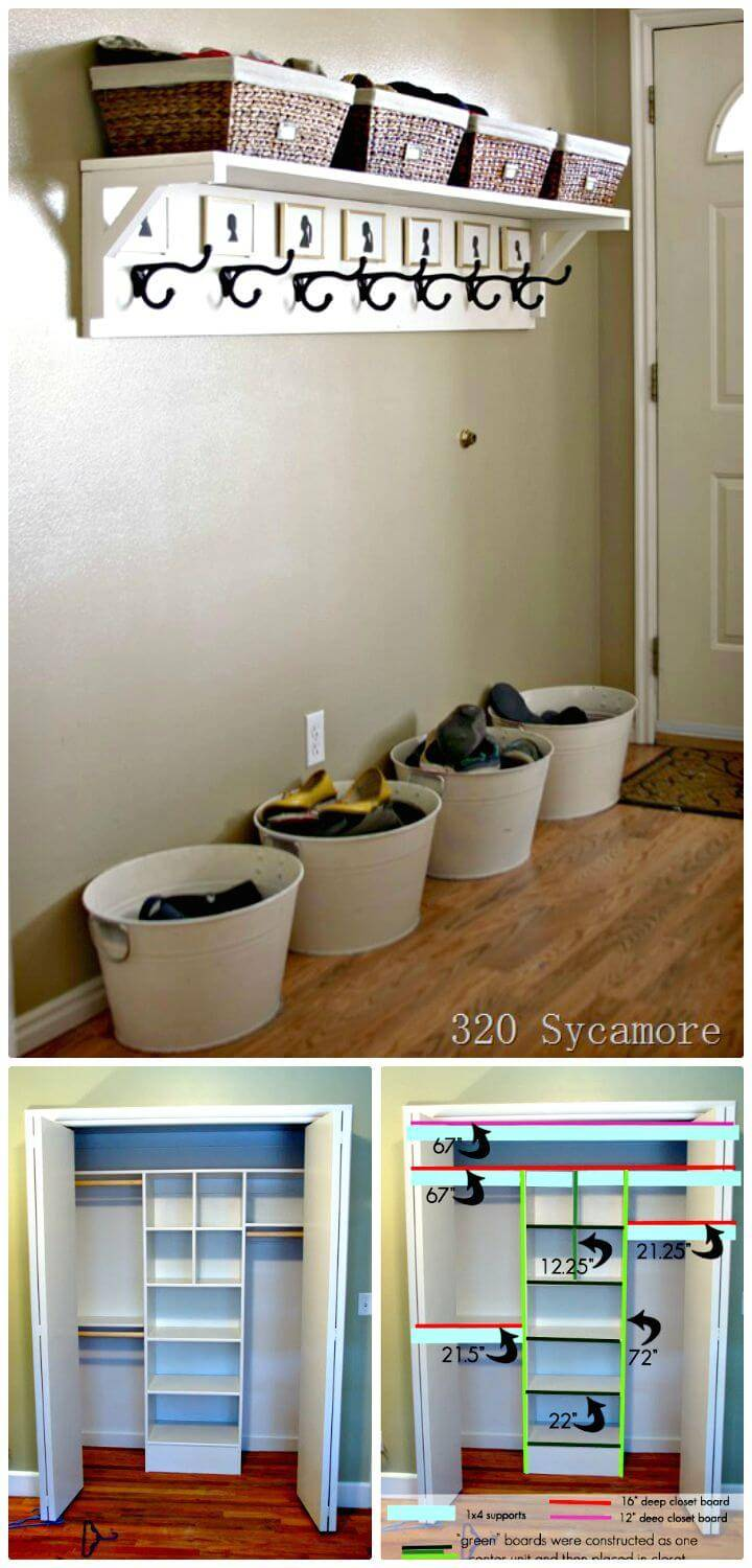 Simple and Super Easy How To Build Entryway Solutions And Organization