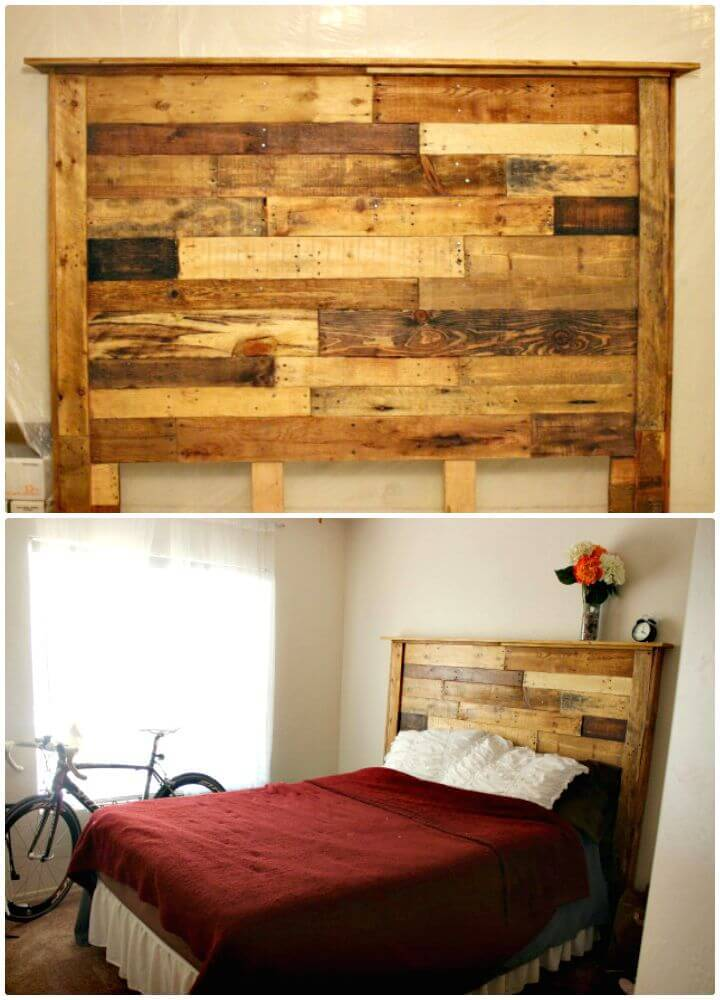 40 Pallet Headboard Ideas To Diy For Your Beds ⋆ Diy Crafts