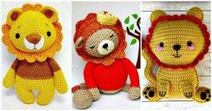 10 Free Crochet Lion Amigurumi Patterns - Free Crochet Patterns - DIY Crafts - DIY Projects