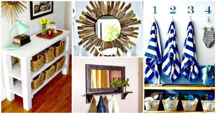 100 Ultimate DIY Entryway Ideas That You Can DIY Easily - DIY Projects - DIY Crafts - DIY Home Decor Ideas