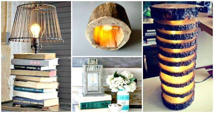 diy crafts ideas for home 15 unique diy lamp ideas to light up your home creatively 6462