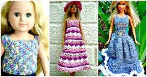 20 Free Crochet Barbie Clothes Pattern