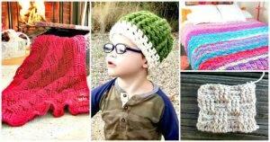25 Free Crochet Basket Weave Stitch Patterns