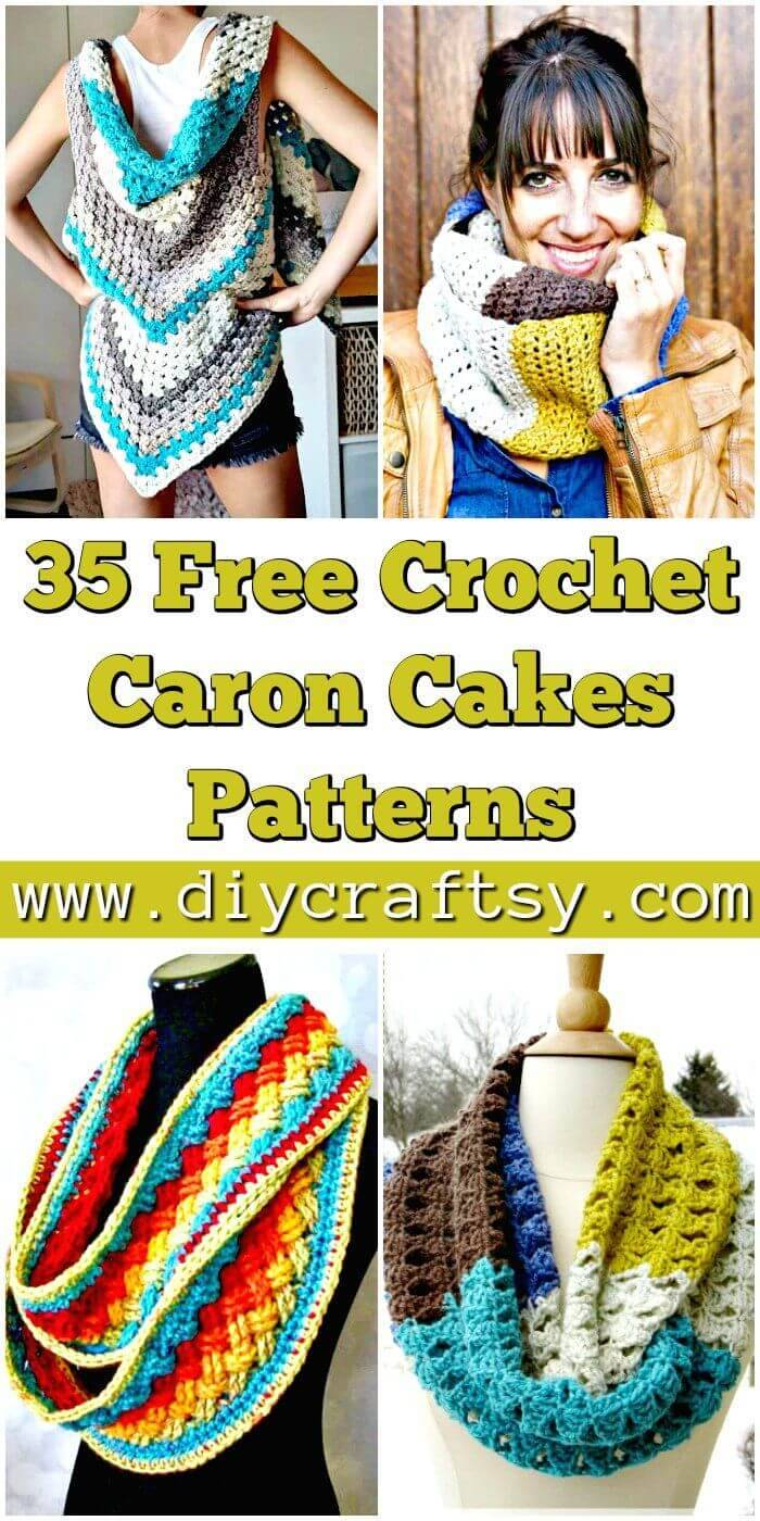 35 Free Crochet Caron Cakes Pattern You Should Try - DIY Crafts