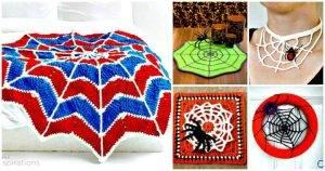40 Free Crochet Spider Web Patterns - Free Crochet Patterns - DIY Crafts