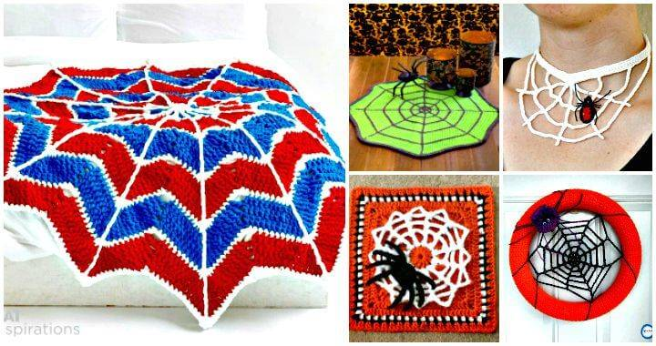 40 Free Crochet Spider Web Patterns - Free Crochet Patterns - DIY Crafts