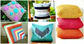 49 Free Crochet Pillow Patterns for Decorating Your Home - Free Crochet Patterns - DIY Crafts